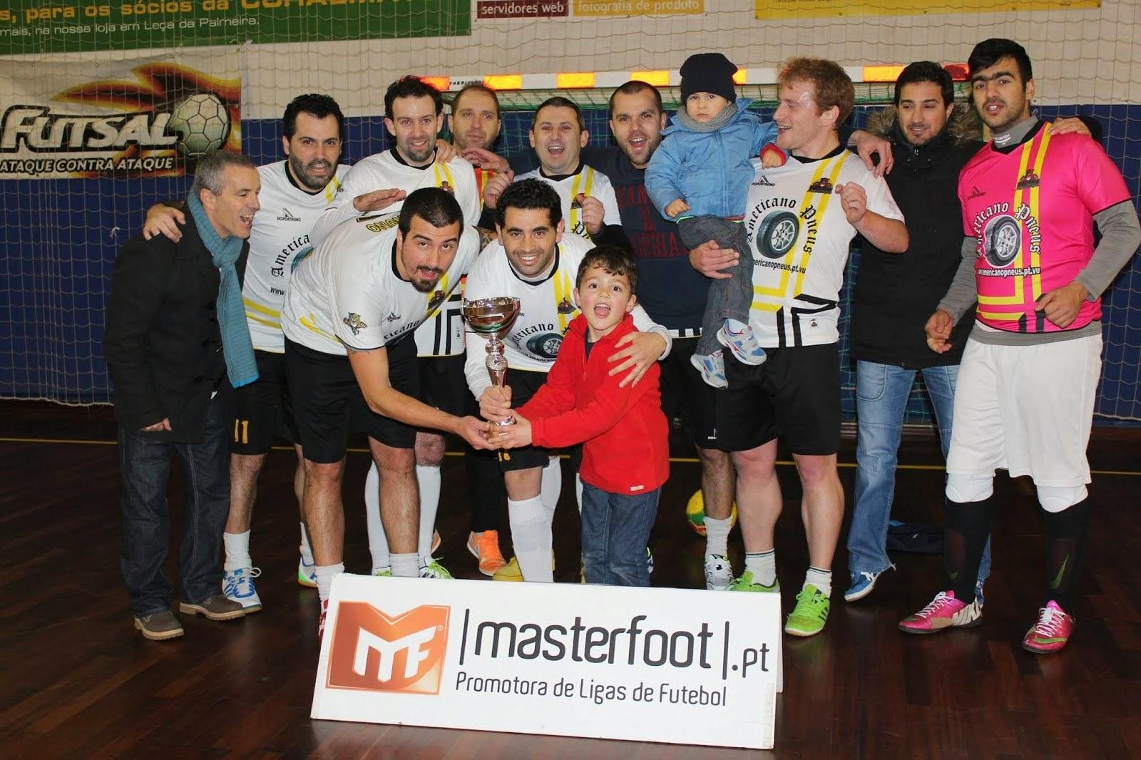 VENCEDOR da Masterfoot Futsal Cup