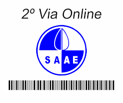 TIRE AQUI A 2ª VIA DO SAAE
