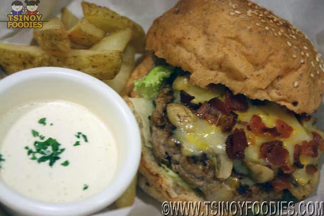 mushroom jack burger
