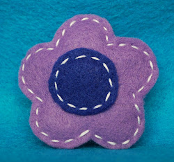 lavender w/navy