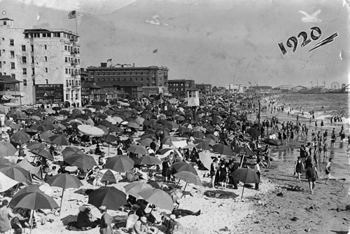 Venice Beach during the '20s