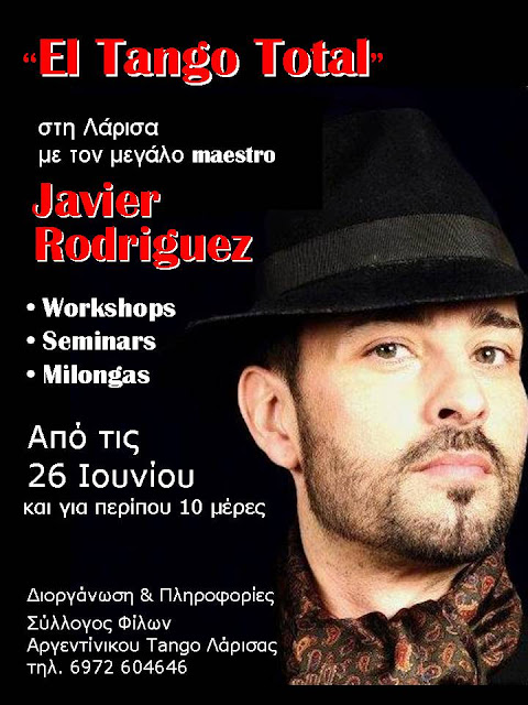"""El Tango Total"" with Javier Rodriguez"