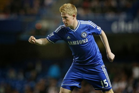 Kevin De Bruyne has struggled to make the first team at Chelsea this season
