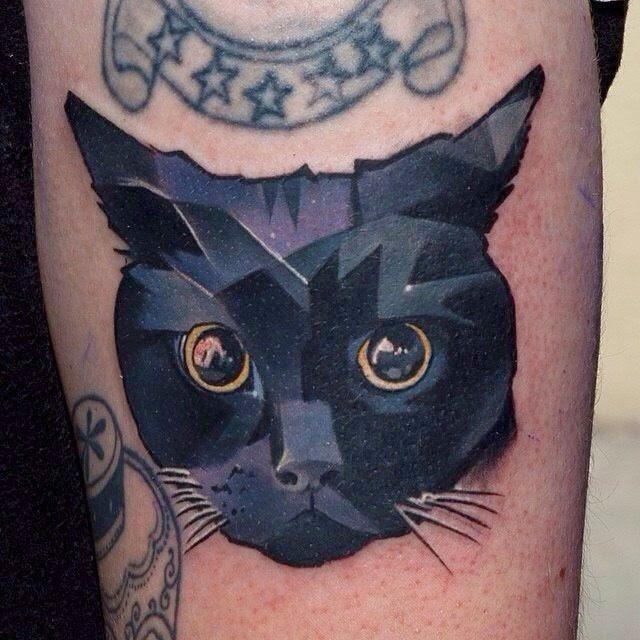 Tatuaje de gato, http://distopiamod.blogspot.com