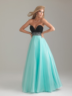 Crystal Cattle: Turquoise Party Dresses