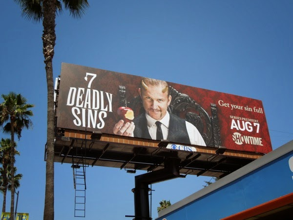 Seven Deadly Sins series premiere billboard