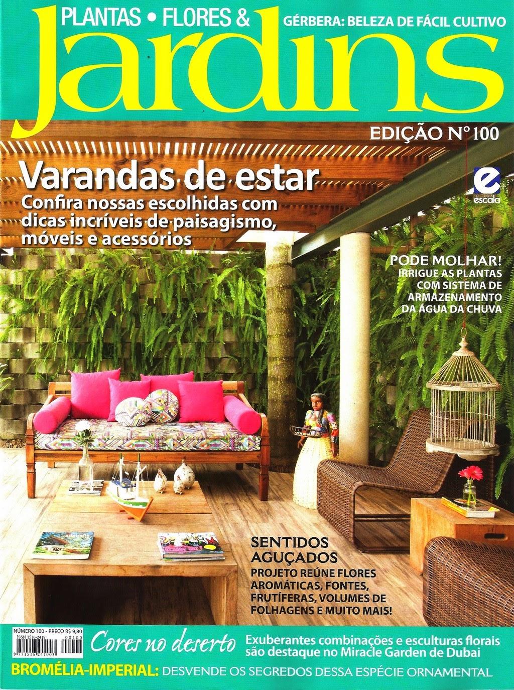 MARIAFLOR NA REVISTA PLANTAS FLORES & JARDINS, EDIÇÃO 100, FEV 2015