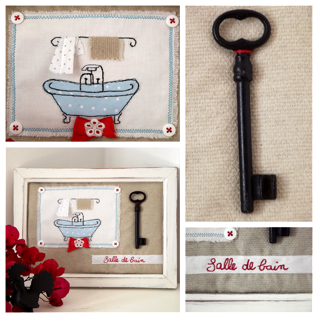 Freehand Machine Embroidery: salle de bain