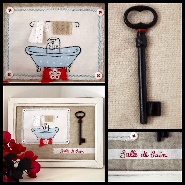 Freehand Machine Embroidery: salle de bain