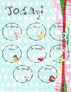 Cute New Digital Craft to Make Printable Chore Charts