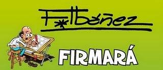 Firmas de Francisco Ibáñez