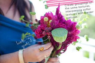 有蓮蓬加上去的結婚花球,美與不美見仁見智