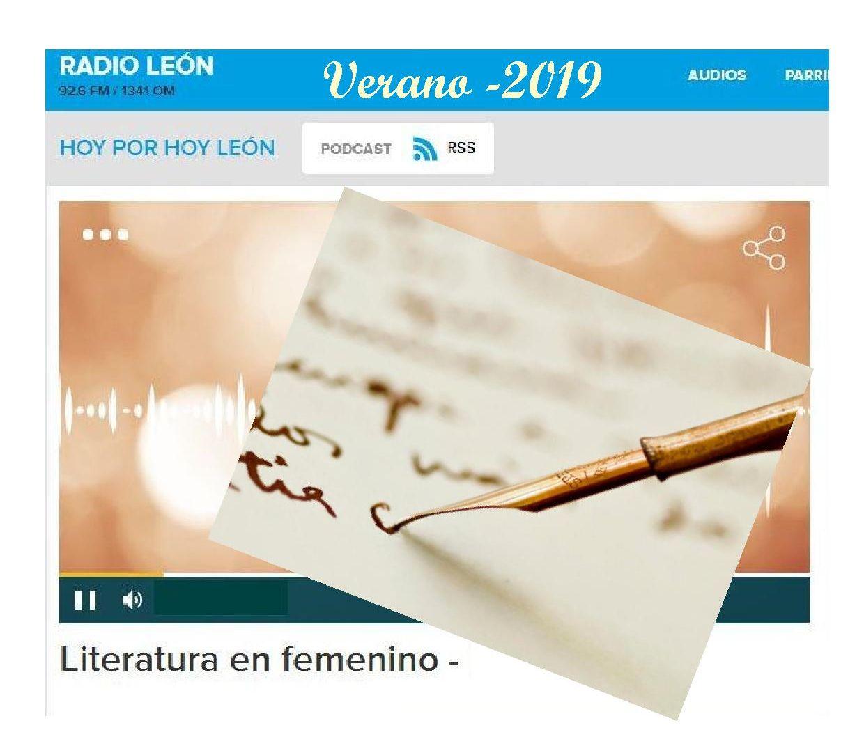 Literatura en femenino. Serie de 8 capítulos
