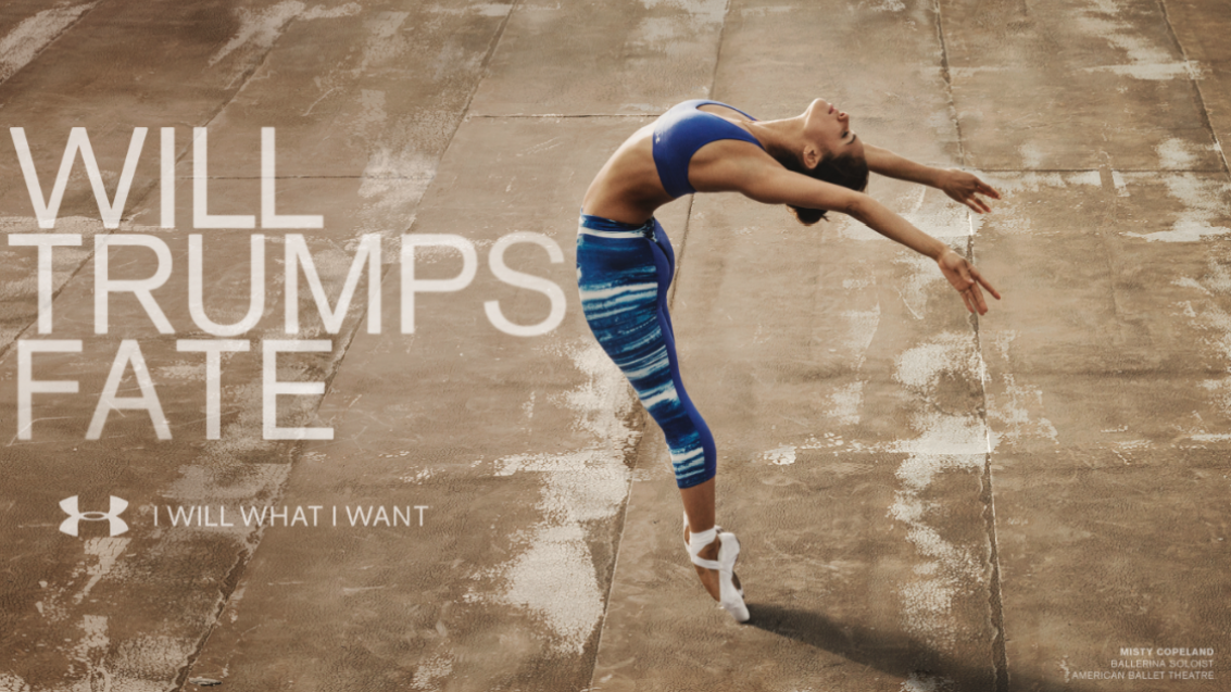 fee5d8a0b43 Advertising Project  Under Armour Advertisement (Ballet)