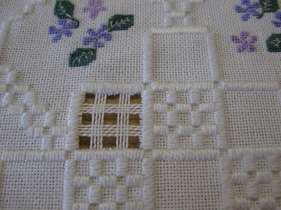 Anita's quilts en handwerken: Hardanger deel 2