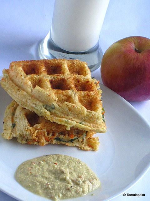 Sooji Waffles