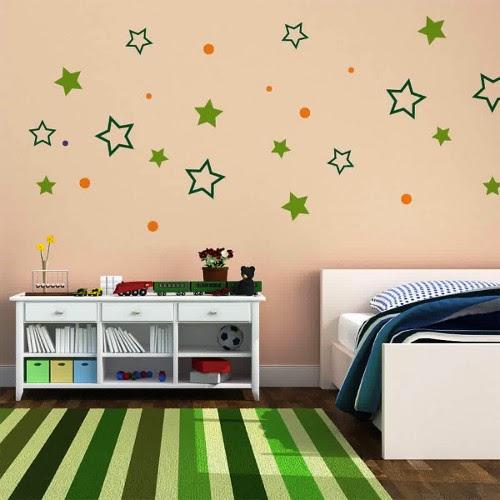 easy wall sticker for boys kids bedroom decor
