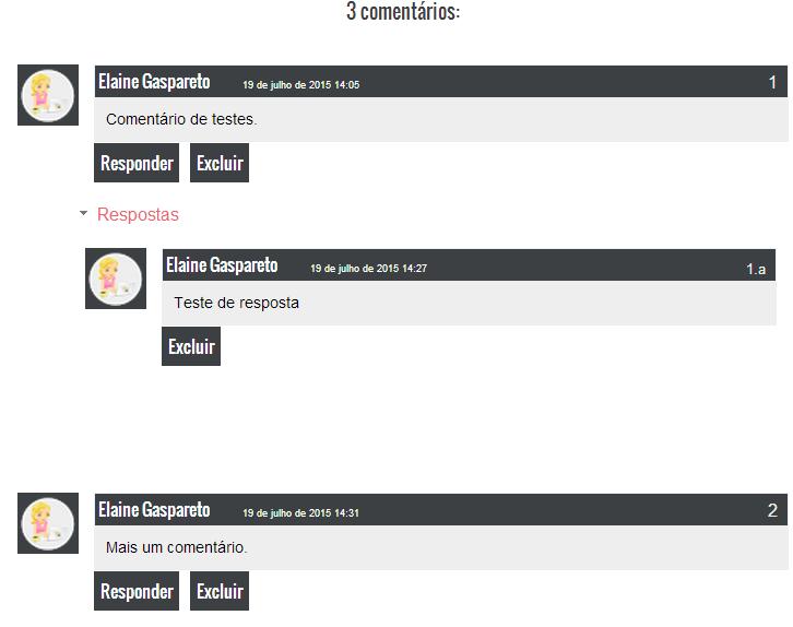 modelo estilo masculino para personalizar os comentários do blog