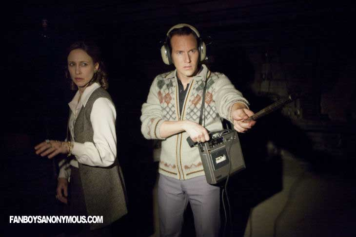 Warren Vera Farmiga Patrick Wilson Horror Conjuring Wan Screenshot Scary