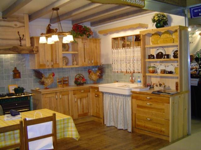 Muebles y decoraci n de interiores cocina r stica francesa - Muebles cocinas rusticas ...