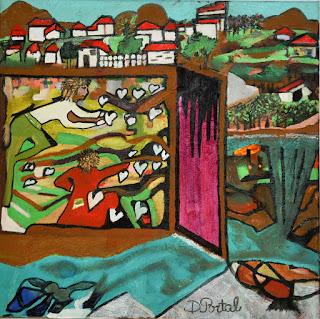 artiste peintre montpellier - Le Jardin de mon Coeur