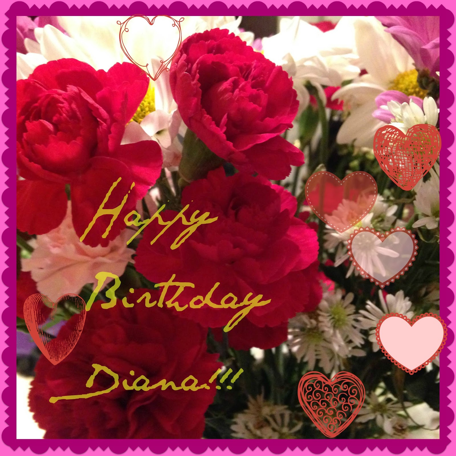 Overcoming with god happy birthday diana happy birthday diana izmirmasajfo Image collections