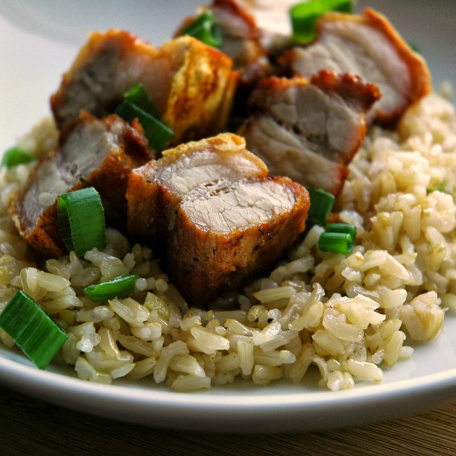 Cooking with mom crispy pork belly garlic fried rice simply for dipping we love to serve the pork with sweet chili sauce or mang tomas the traditional condiment for lechon every crispy salty garlic y bite is so ccuart Choice Image