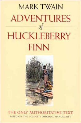 """a review of mark twains novel adventures of huckleberry finn Topic: critical reviews of mark twain's huckleberry finn negative critiques of the novel: san francisco evening bulletin, march 14, 1885 """"it is an amusing story, if such scrap-work can be."""