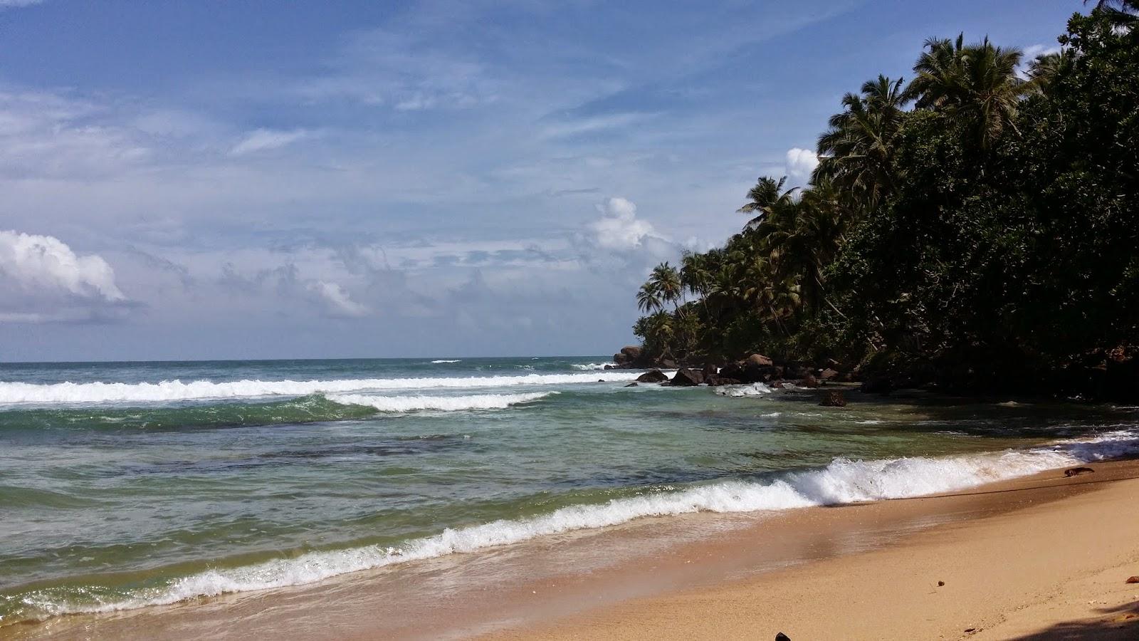 Minutos después de la lluvia en Mirissa (Sri Lanka)
