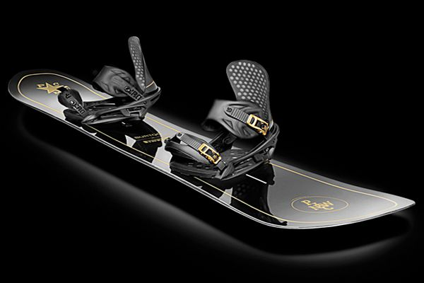 Pirelli Pzero x Burton – Limited Edition Snowboard with Bindings Boots