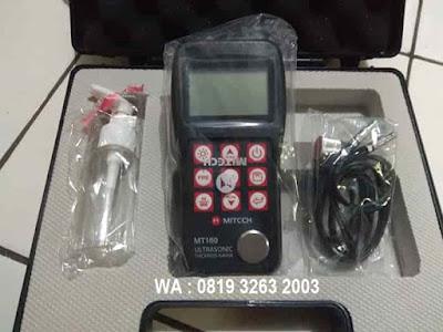 Jual MITECH MT160 Ultrasonic Thickness Gauge - MT 160 Alat Ukur Ketebalan Logam berkualitas