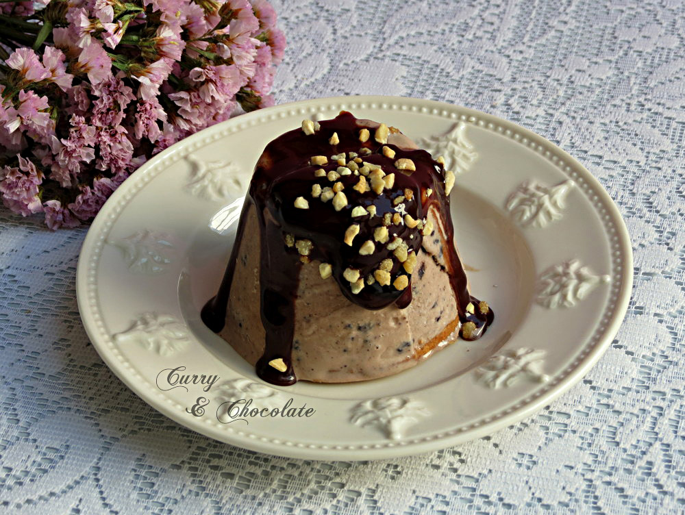 Helado casero de Nutella y trocitos de galleta Oreo – Homemade Oreo Nutella ice cream