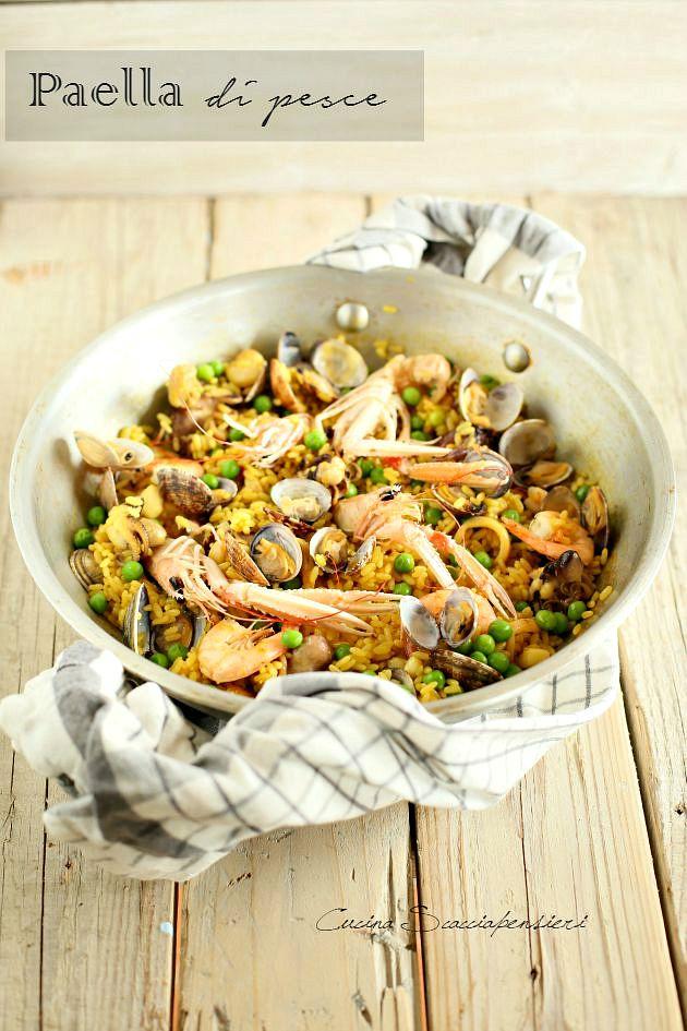 Montersino Paella Di Pesce Ricette Di Cotto E Postato