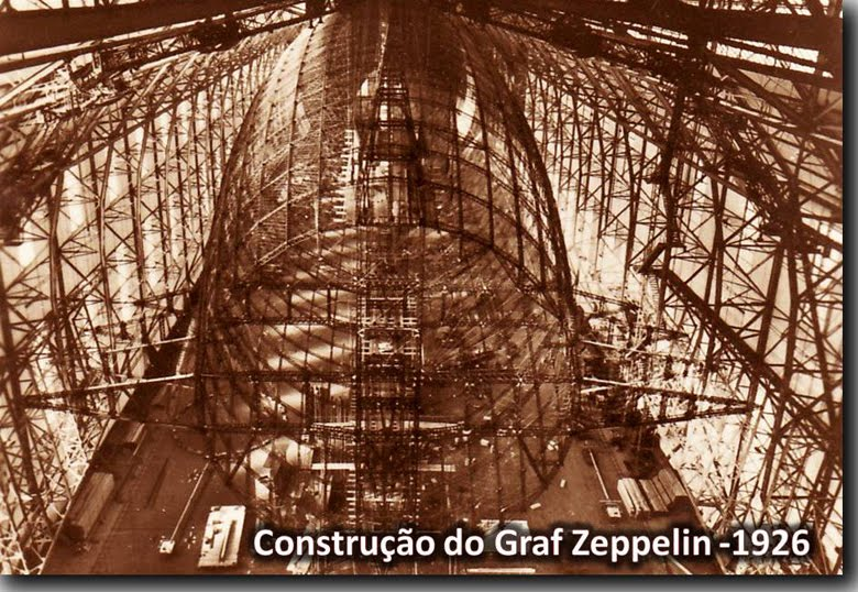Construção do Graf Zeppelin - 1926