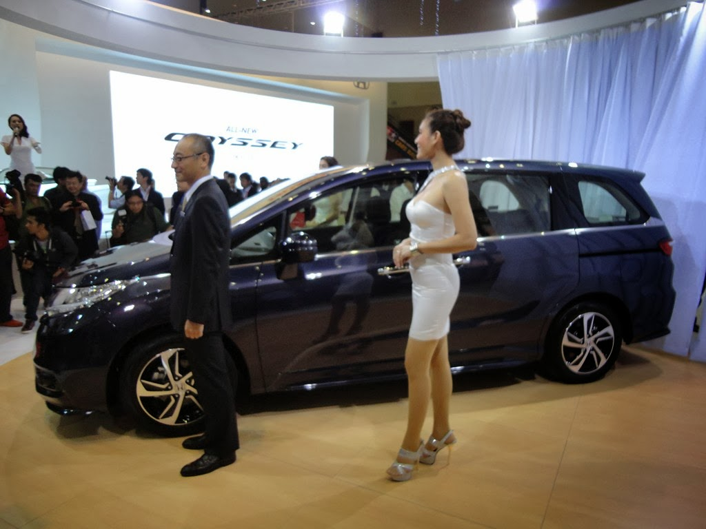 KLIMS 2013- The 2014 Honda Odyssey launched in Malaysia