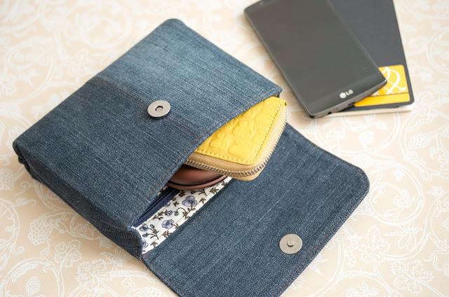 Маленькие сумочки или клатч своими руками