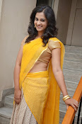 Nanditha raj latest photos in half saree-thumbnail-5