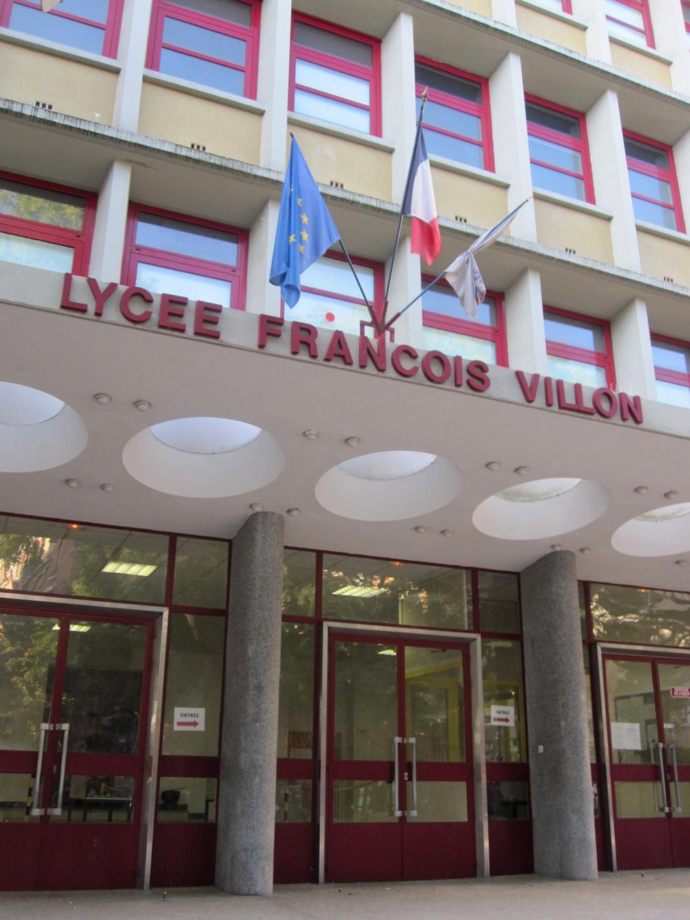 Paris Lyc 233 E Fran 231 Ois Villon Germain Grange