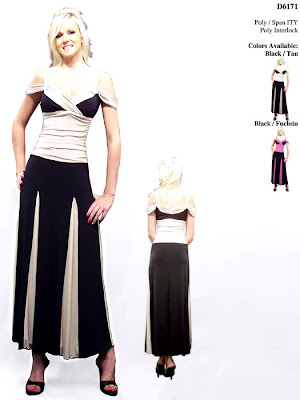 A-line+Shoulder+Halter+Length+Black+Prom+Dress