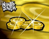 Cheat Ninja Saga - 25 jt Gold update 16 april 2011