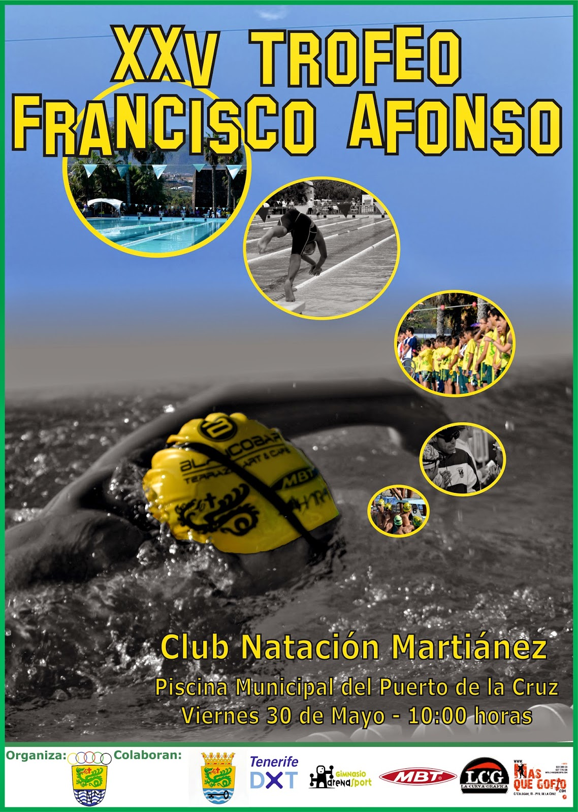 Ntc natacion canaria mayo 2014 for Piscina municipal puerto de la cruz