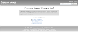 freeware lovers website