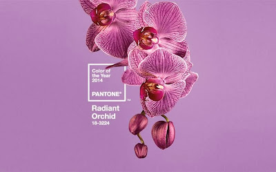 2014 Pantone colour of the year radiant orchid