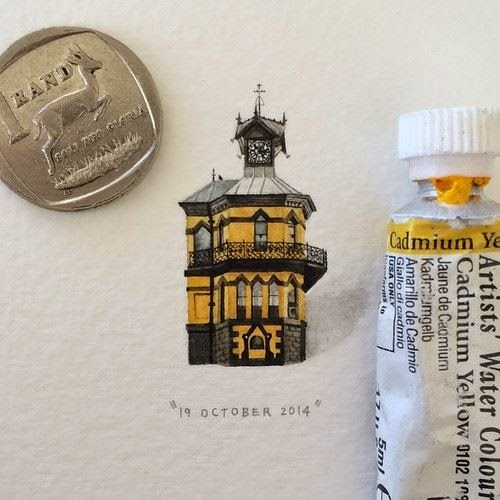 33-Clock-Tower-Lorraine-Loots-Miniature-Paintings-Commemorating-Special-Occasions-www-designstack-co
