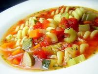 Sopa de Massa e Legumes à Italiana (vegana)