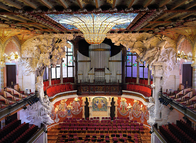 Palace of Catalan Music Barcelona Spain