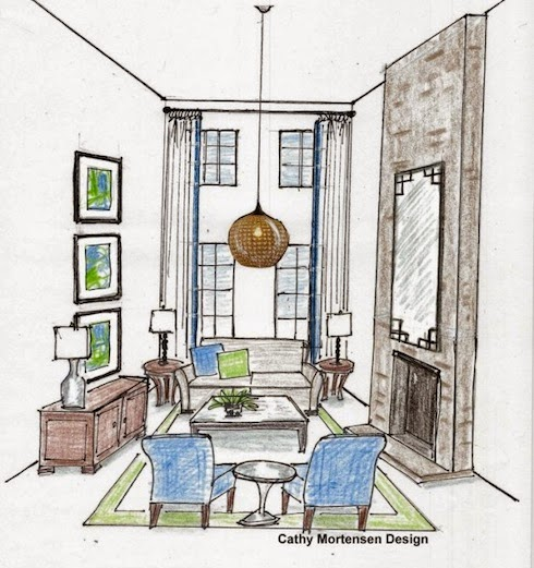 House Envy: Design Dilemma: Decorating Rooms with High ...