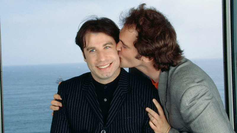 Quentin Tarantino e John Travolta