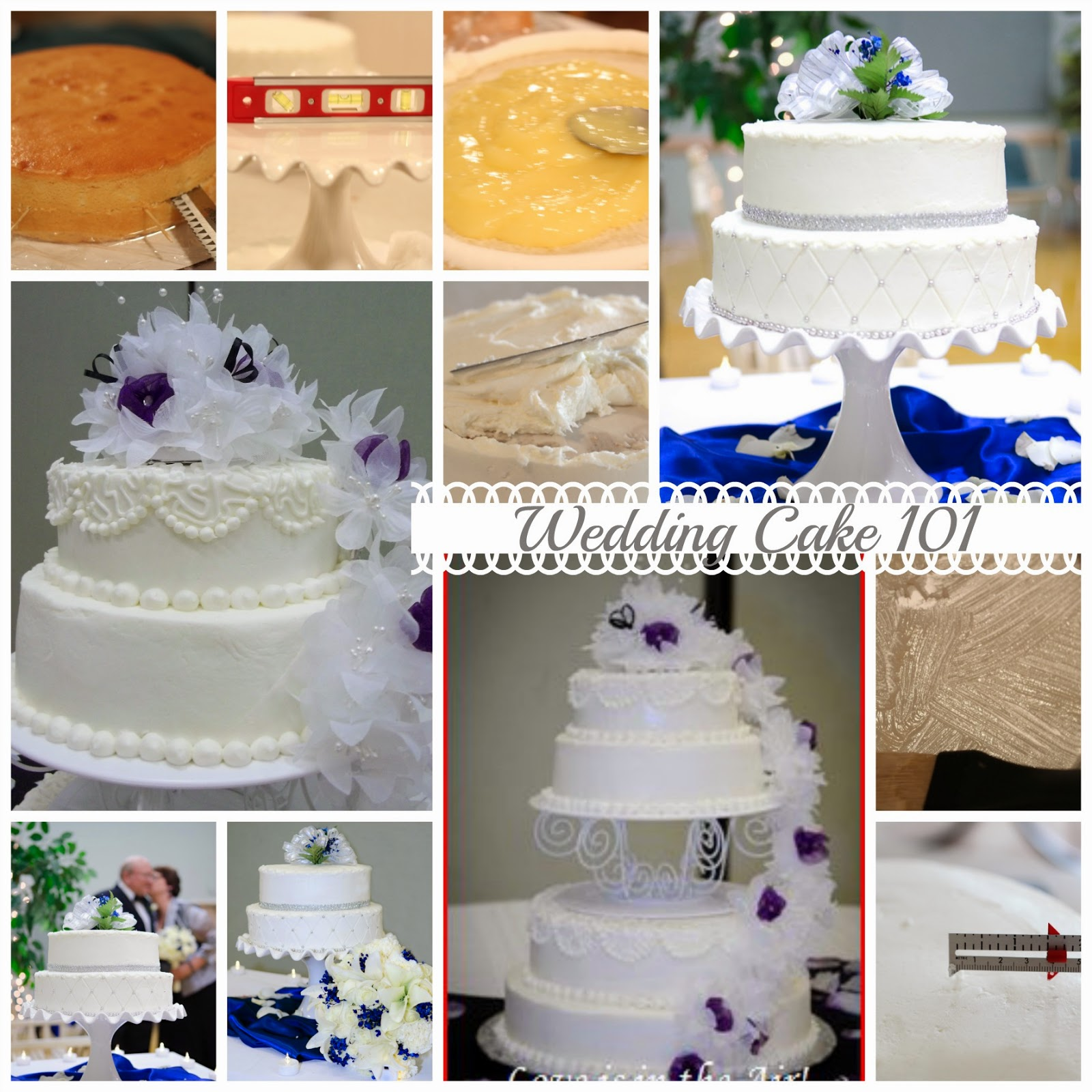 How to make a Wedding Cake Tutorial