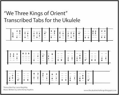 The Ukulele Challenge January 2016